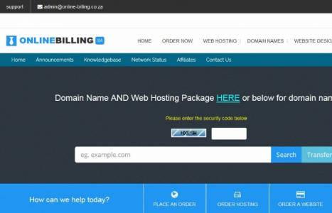 Web Hosting Pakkette